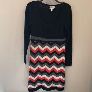 Milly sweater dress 100% Merino wool